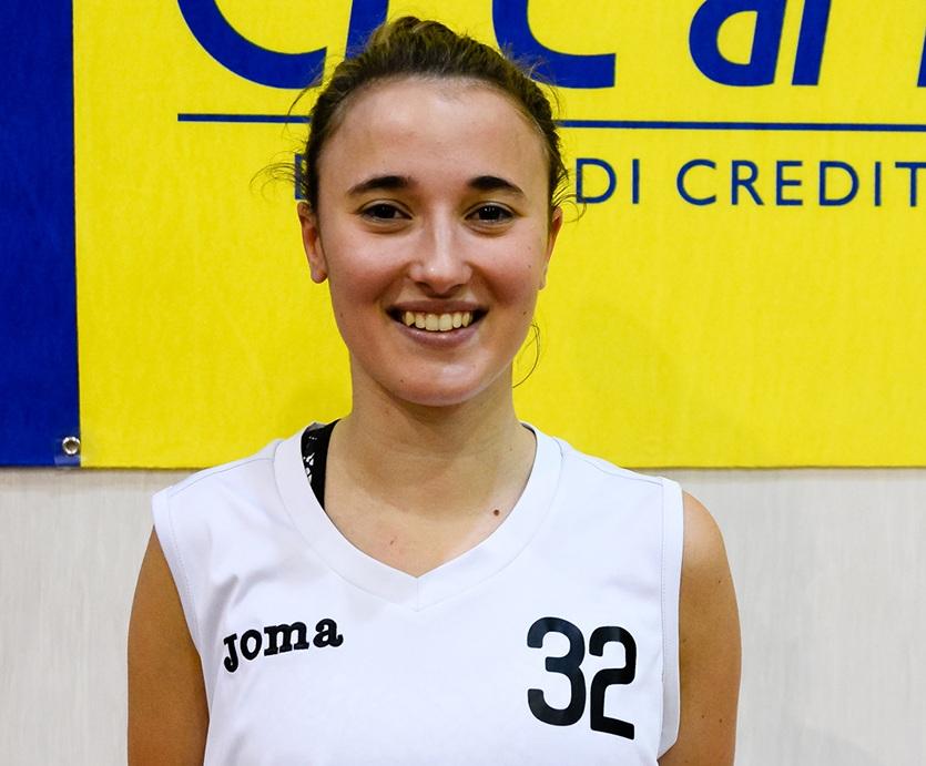 Anna Bortolotti firma per la StartingFive